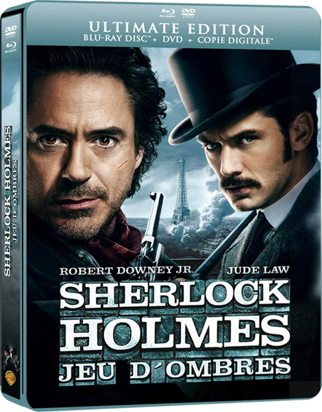 Шерлок Холмс: Игра теней / Sherlock Holmes: A Game of Shadows (2011) BDRip 1080p / 13.5 Gb [Лицензия]