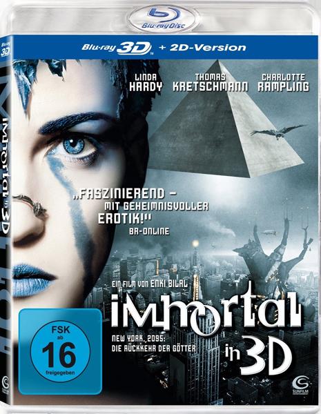 Бессмертные - Война миров 3Д / Immortel (ad vitam) 3D (2004) [BDRip, 1080p, Half OverUnder / Вертикальная анаморфная стереопара]
